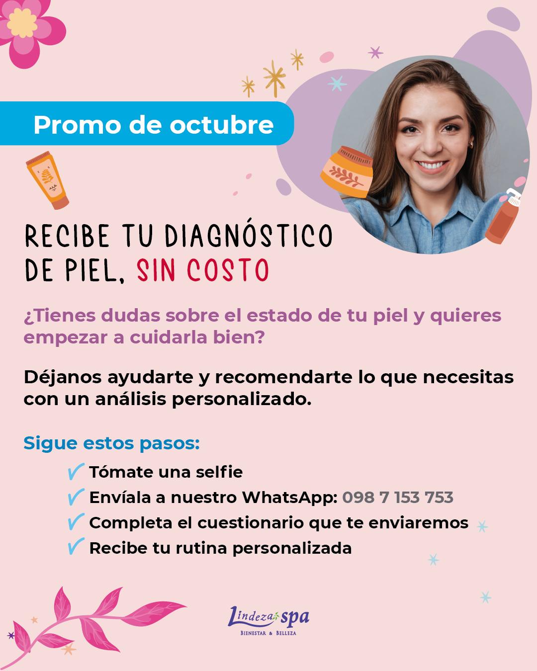 diagnóstico de piel, piel sana, cuidado de la piel en Guayaquil