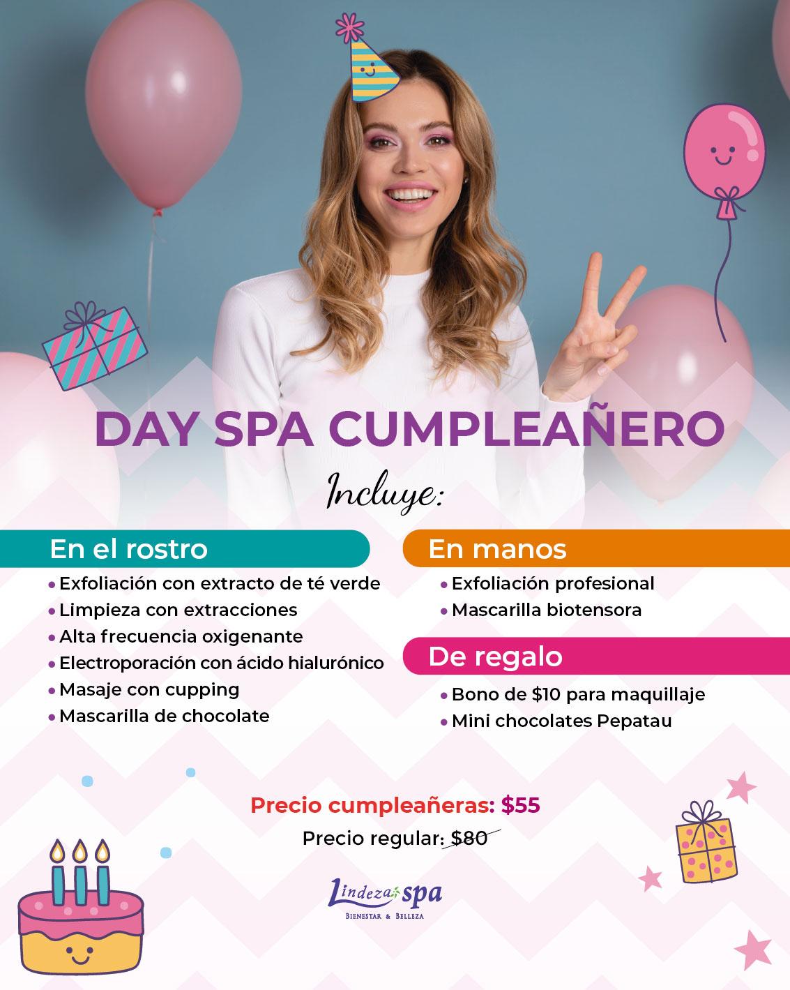 Día de spa, day spa, regalo de cumpleaños, spa en Guayaquil, facial en Guayaquil, limpieza facial profunda