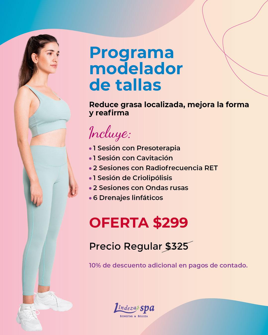 tratamiento reductor, spa en Guayaquil, drenaje linfático, presoterapia, radiofrecuencia RET