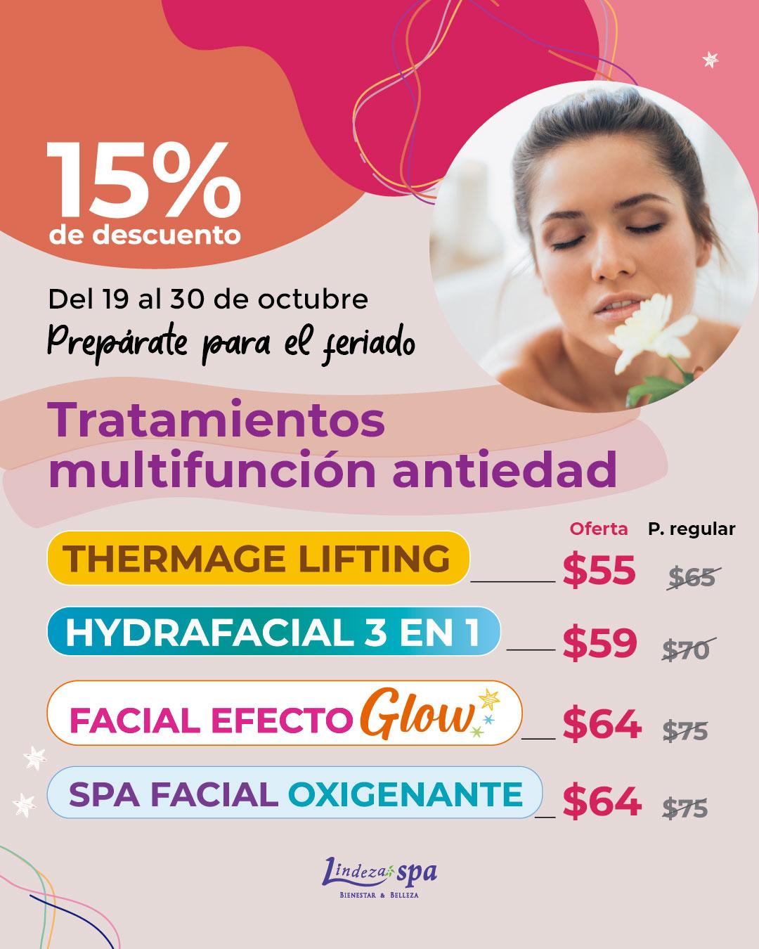 Tratamiento antiedad, rejuvenecimiento sin agujas, spa en Guayaquil, skincare, radiofrecuencia Thermage Lifting sin agujas